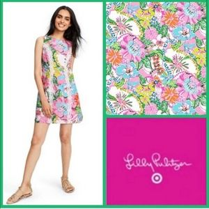 Lilly Pulitzer Target Nosey Posie Dress 4 Floral